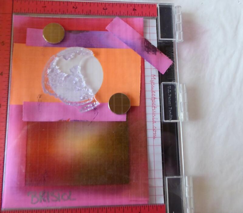 Kartenworkshop chindlifraesser.ch one layer Karten - wir stempeln den Mond